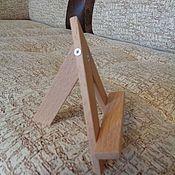 Для дома и интерьера ручной работы. Ярмарка Мастеров - ручная работа Мини мольберт подставка 10 см. (Бук). Handmade.