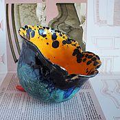 """Посуда ручной работы. Ярмарка Мастеров - ручная работа """"Белладонна"""", вазочка, керамика ручной работы.. Handmade."""