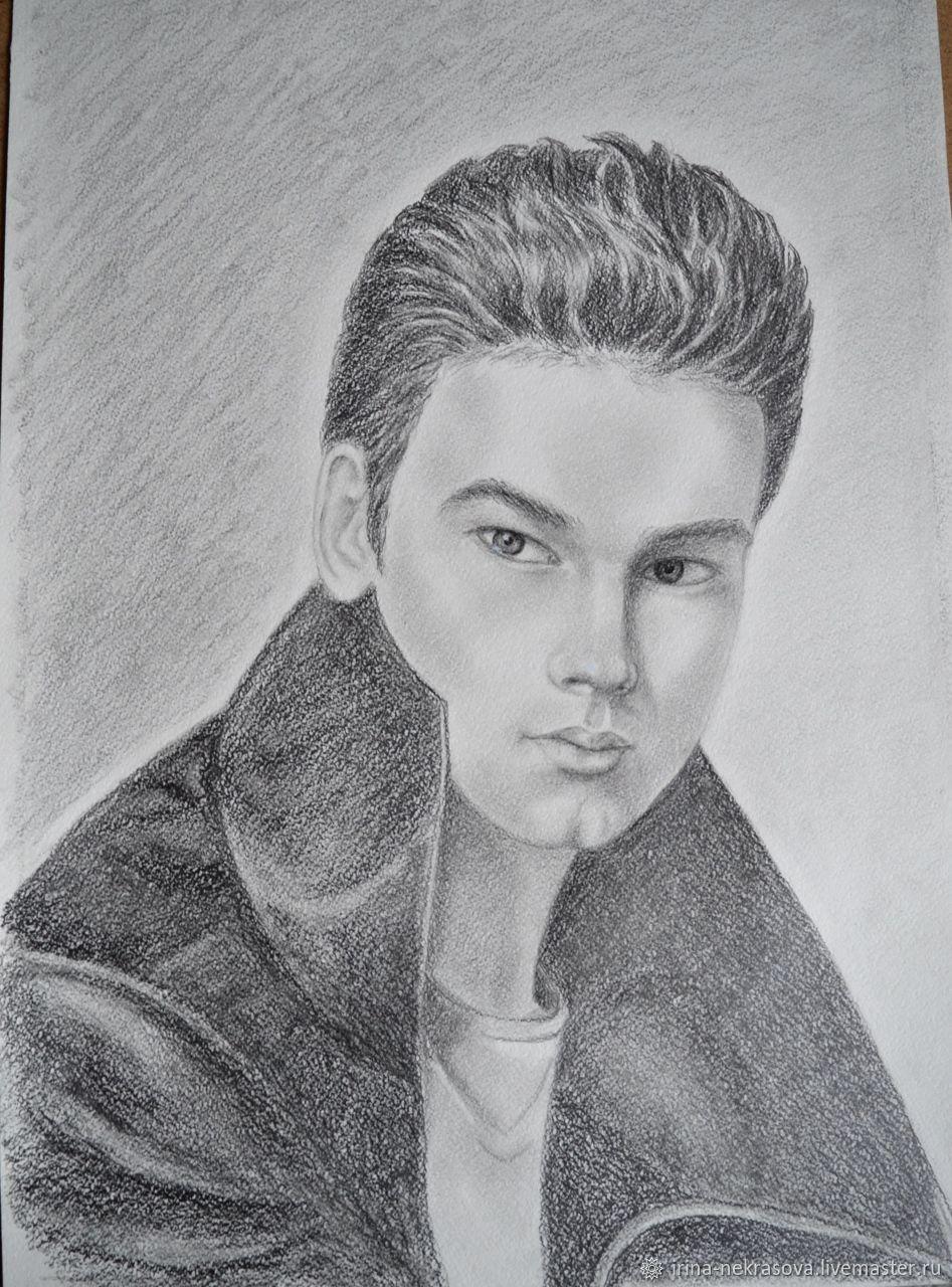 Портрет молодого человека, Картины, Москва, Фото №1