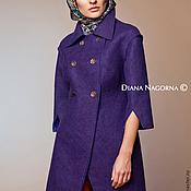 Одежда handmade. Livemaster - original item The author`s coat Merino wool