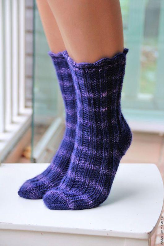 вязаные носки, носки вязаные, вязаные носочки, теплые носки, шерстяные носки, теплые носочки, ручная работа, вязаные аксессуары