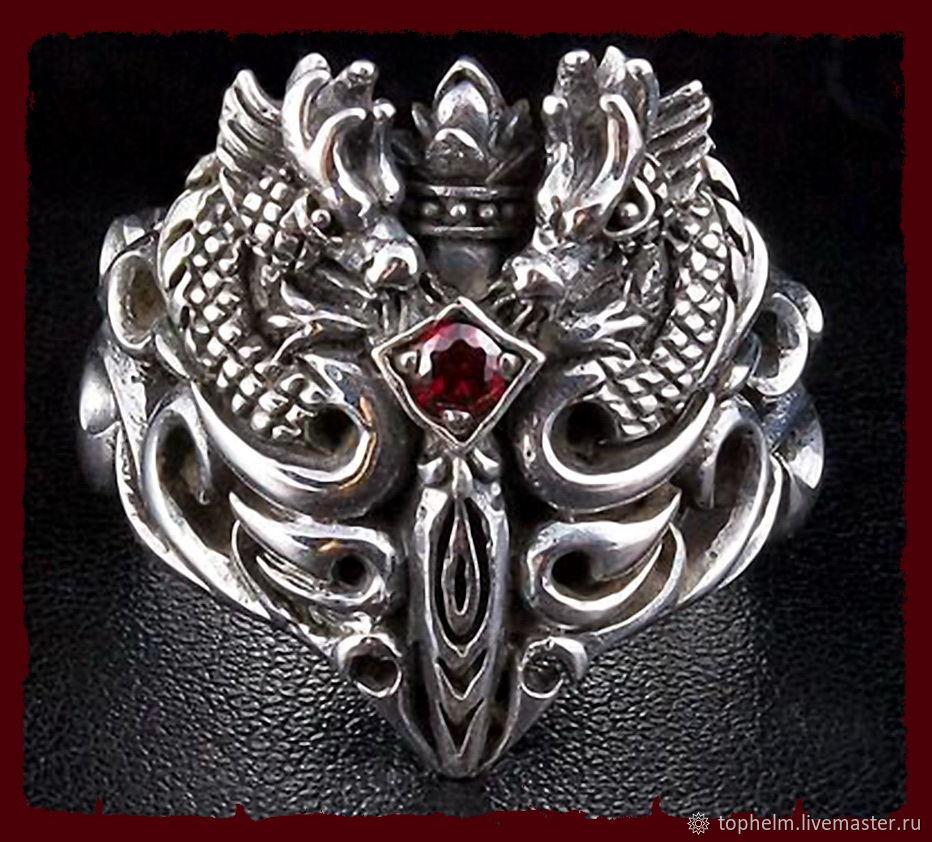 Кольцо «Меч Драконов», Кольца, Москва,  Фото №1