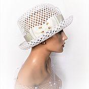 Аксессуары handmade. Livemaster - original item Light dream hat. Handmade.
