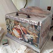 Для дома и интерьера handmade. Livemaster - original item A bread box made of pine