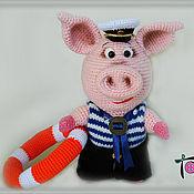 Куклы и игрушки handmade. Livemaster - original item The Pig Crudely Boatswain. Handmade.