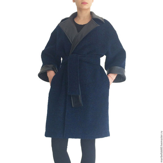 Верхняя одежда ручной работы. Ярмарка Мастеров - ручная работа. Купить Пальто Осень/Весна. Свободную куртку NEW YORK. Handmade.