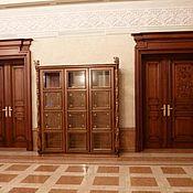 Двери ручной работы. Ярмарка Мастеров - ручная работа Межкомнатные двери на заказ из вишни. Handmade.