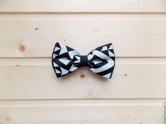 """Галстуки, бабочки ручной работы. Ярмарка Мастеров - ручная работа. Купить Галстук бабочка """"Абстракции"""" / бабочка галстук черно белая. Handmade."""