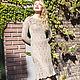 """Платья ручной работы. платье """"Барокко"""". Jannetta knits  Luxury handmade. Интернет-магазин Ярмарка Мастеров. Однотонный"""
