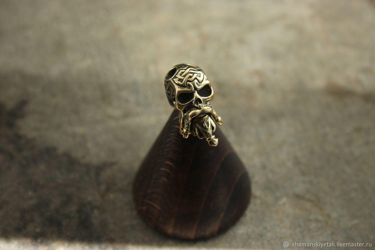 Бусина для темляка  череп, Сувенирное оружие, Волгоград,  Фото №1