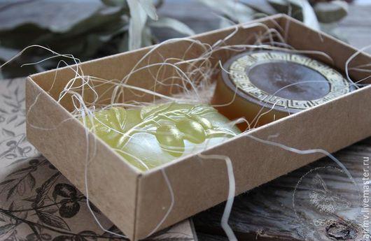 """Подарочные наборы косметики ручной работы. Ярмарка Мастеров - ручная работа. Купить """"ОЛИВКОВЫЙ"""" набор мыла ручной работы. Handmade."""