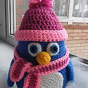 Пингвин в шапочке