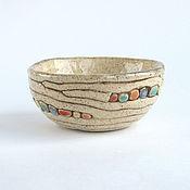 Посуда ручной работы. Ярмарка Мастеров - ручная работа Пиала «Дюны». Handmade.