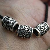 Украшения handmade. Livemaster - original item Charm bead 925 silver. Handmade.