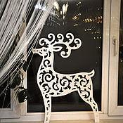 Сувениры и подарки handmade. Livemaster - original item Reindeer Christmas 60 cm. Handmade.