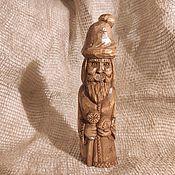 Для дома и интерьера handmade. Livemaster - original item Figurines: Santa Claus made of wood. Handmade.