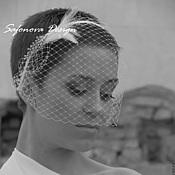 Свадебный салон ручной работы. Ярмарка Мастеров - ручная работа Purity. Вуалетка. украшение для невесты.. Handmade.