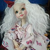 Куклы и пупсы ручной работы. Ярмарка Мастеров - ручная работа Кукла будуарная Муся. Handmade.