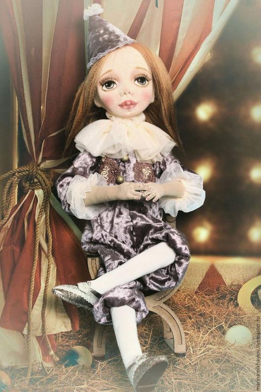 Коллекционные куклы ручной работы. Ярмарка Мастеров - ручная работа. Купить клоун Джованни. Handmade. Кукла ручной работы