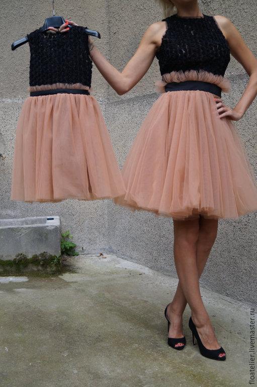 Платья ручной работы. Ярмарка Мастеров - ручная работа. Купить Женская юбка из тюля/ Балетная юбка/ F1500. Handmade.