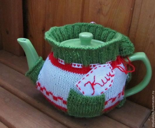 Грелка на чайник `Волшебное чаепитие ` Ручная работа студии ` Кич `. Ярмарка мастеров.