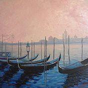 Картины и панно ручной работы. Ярмарка Мастеров - ручная работа Картина маслом Венеция. Handmade.