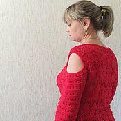 Одежда ручной работы. Ярмарка Мастеров - ручная работа Полувер с открытыми плечами. Handmade.