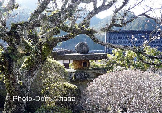 Пейзаж ручной работы. Ярмарка Мастеров - ручная работа. Купить Старый торо (фонарь). Магоме. Япония. Handmade. Фото авторское