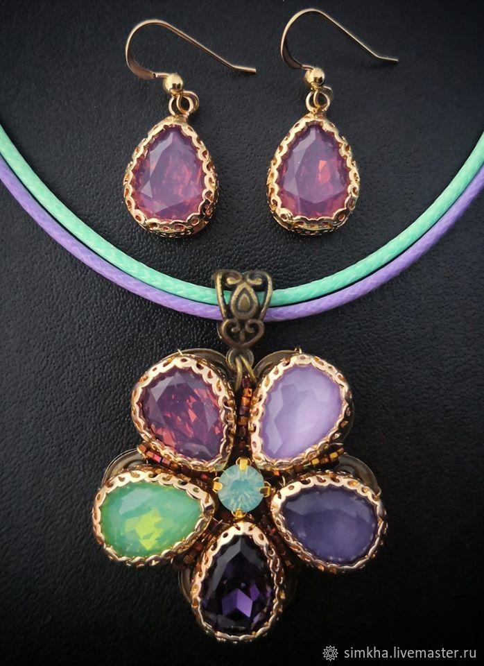 Kit 'Lavender', Jewelry Sets, Netanya,  Фото №1