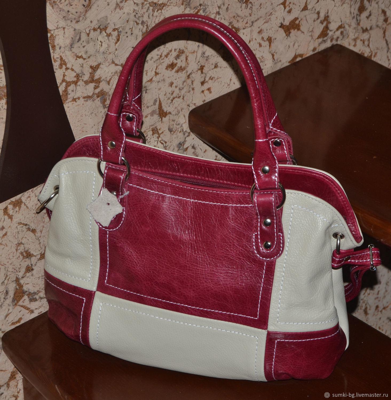 Leather bag Elegant bag Model 313, Classic Bag, Bogorodsk,  Фото №1