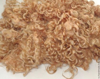 шерстяные кудри, заготовки, волосы для кукол