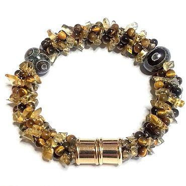 Decorations handmade. Livemaster - original item Bracelets: Citrine. Handmade.