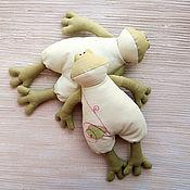 Куклы и игрушки ручной работы. Ярмарка Мастеров - ручная работа Лягушка Tilda. Handmade.
