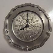 Винтаж ручной работы. Ярмарка Мастеров - ручная работа Настенные часы из олова Германия ХХ век. Handmade.