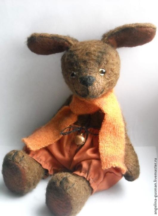 Мишки Тедди ручной работы. Ярмарка Мастеров - ручная работа. Купить Авторская собака - тедди Апельсинчик друг мишек - тедди. Handmade.