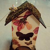 """Для дома и интерьера ручной работы. Ярмарка Мастеров - ручная работа Чайный домик """"Волшебная магнолия"""". Handmade."""