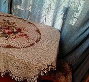 Для дома и интерьера ручной работы. Ярмарка Мастеров - ручная работа Скатерть «Бабушкин кругляш». Handmade.