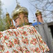 Одежда ручной работы. Ярмарка Мастеров - ручная работа Летняя юбка в складку из шифона на заказ. Handmade.