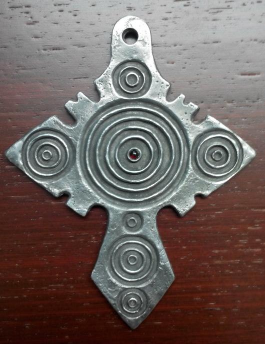 Подарки на Пасху ручной работы. Ярмарка Мастеров - ручная работа. Купить Валаамский крест. Handmade. Миниатюра, скульптура, крест