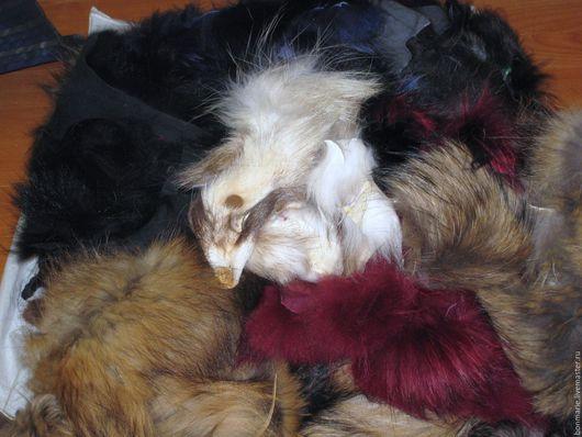 Шитье ручной работы. Ярмарка Мастеров - ручная работа. Купить Меховой лоскут. Handmade. Меховой лоскут, украшения из меха