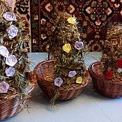 Подарки к праздникам ручной работы. Ярмарка Мастеров - ручная работа Комплект овальных пасхальных корзинок. Handmade.