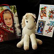 Мягкие игрушки ручной работы. Ярмарка Мастеров - ручная работа Мягкие игрушки: Лошадка. Handmade.