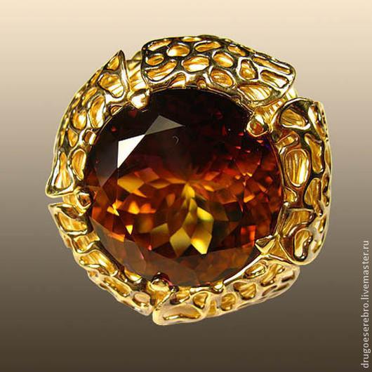 Кольца ручной работы. Ярмарка Мастеров - ручная работа. Купить Золотое кольцо Таинственный цветок. Handmade. Авторская ручная работа