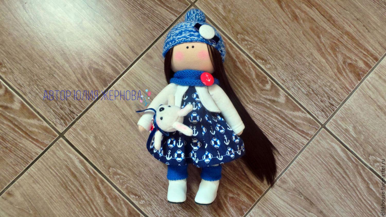 Интерьерная кукла Морячка, Тыквоголовка, Сочи,  Фото №1