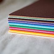Материалы для творчества ручной работы. Ярмарка Мастеров - ручная работа Корейский фетр 36 цветов 30х45 набор. Handmade.