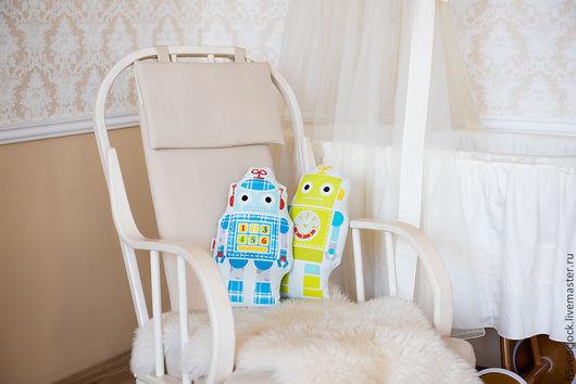 Для дома и интерьера ручной работы. Ярмарка Мастеров - ручная работа. Купить Декоративная подушка для детей Трансформеры. Handmade. дети