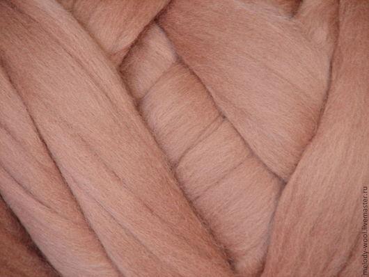 Валяние ручной работы. Ярмарка Мастеров - ручная работа. Купить Шерсть для валяния меринос 18 микрон цвет Кружево (Lace). Handmade.