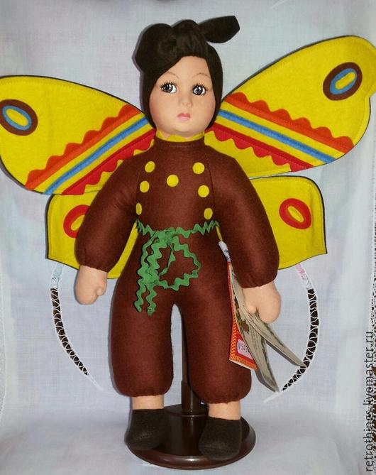 Коллекционные куклы ручной работы. Ярмарка Мастеров - ручная работа. Купить Бабочка Lenci. Handmade. Разноцветный, lenci