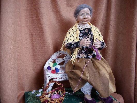 Коллекционные куклы ручной работы. Ярмарка Мастеров - ручная работа. Купить интерьерная кукла Цветик-семицветик. Handmade. Коллекционная кукла
