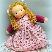 Куклы и игрушки ручной работы. Ярмарка Мастеров - ручная работа Лапушка, вальдорфская куколка для дочки. Handmade.